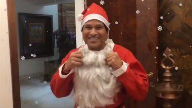 Christmas 2020: সান্তা ক্লজ সেজে ক্রিসমাসের শুভেচ্ছা জানালেন সচিন তেন্ডুলকর, দেখুন ভিডিয়ো
