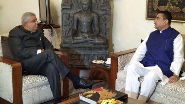 Suvendu Adhikari: বিধানসভায় ইস্তফাপত্রের জটিলতা মিটিয়ে রাজভবনে রাজ্যপাল জগদীপ ধনখড়ের সঙ্গে সাক্ষাৎ শুভেন্দু অধিকারীর