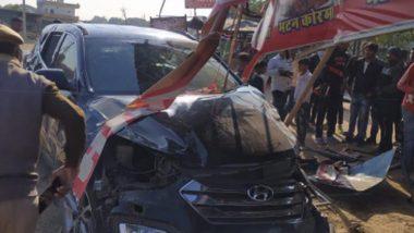 Mohammad Azharuddin's Car Met With Accident: প্রাক্তন ভারত অধিনায়ক মহম্মদ আজহারউদ্দিনের গাড়ি দুর্ঘটনা