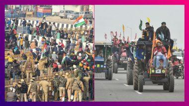 Farmers' Tractor Rally: দিল্লি সীমান্তে ব্যারিকেড ভাঙলেন কৃষকরা, কাঁদানে গ্যাস ছুঁড়ল পুলিশ