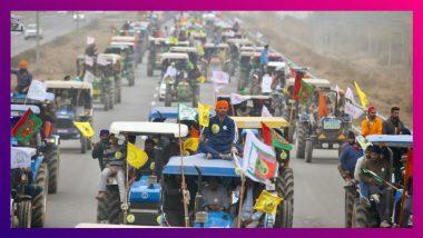 Tractor Rally By Farmers: অষ্টম দফা বৈঠকের আগে ট্রাক্টর মিছিলে স্তব্ধ দিল্লি সীমান্ত