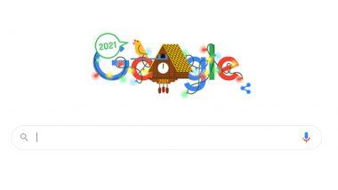 New Year's Day 2021 Google Doodle: 'নতুন বছরের দিন' নববর্ষকে স্বাগত জানিয়ে গুগলের বিশেষ ডুডল