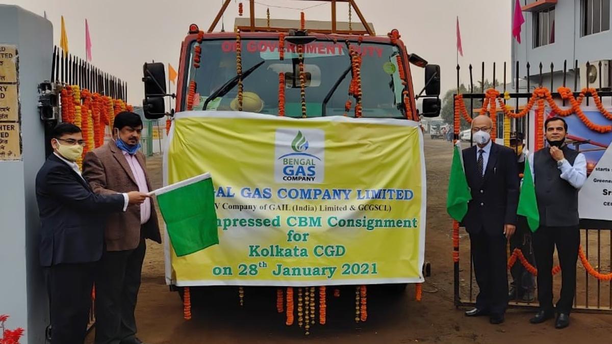 CNG Gas: কলকাতাতে বেঙ্গল গ্যাস কোম্পানির জন্য সর্বপ্রথম CNG পৌঁছে দিল EOGEPL