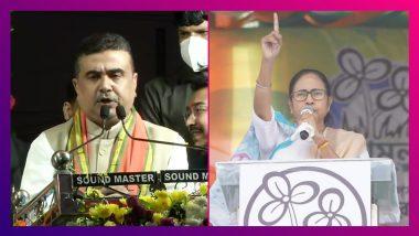 Suvendu Adhikari Road show: '২১ বছর সঙ্গে ছিলাম, এবার বিপক্ষে', মমতাকে চ্যালেঞ্জ শুভেন্দুর