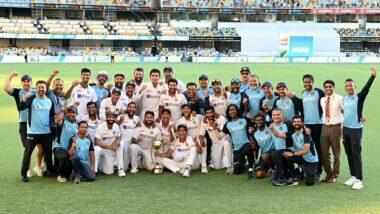 India Beats Australia: অজিদের হারিয়ে ব্রিসবেনের মাটিতে সিরিজ জয়ের পতাকা ওড়ালো ভারতীয় ক্রিকেট দল, শুভেচ্ছা জানালেন নরেন্দ্র মোদি, রাজনাথ সিং, জয় শাহরা