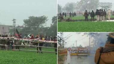Haryana Farmers' Protest: হরিয়ানার মুখ্যমন্ত্রী মনোহরলাল খট্টরের সভাস্থলে ধুন্ধুমার, বিক্ষোভকারীদের হঠাতে কাঁদানে গ্যাস, জলকামান