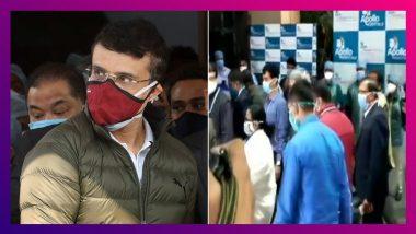 Sourav Ganguly Health Update: সৌরভের হৃদযন্ত্রে দু'টি স্টেন্ট, হাসপাতালে মুখ্যমন্ত্রী