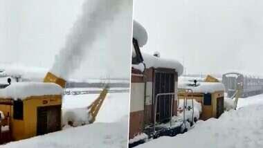Snowfall in Srinagar: বরফের চাদরে ঢেকেছে 'ভূস্বর্গ', দু'চোখ ভরে দেখুন শ্রীনগরের অপরূপ দৃশ্য (দেখুন ভিডিও)