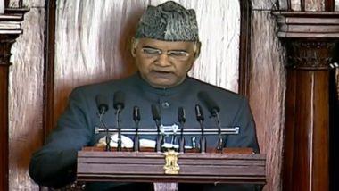 Budget Session 2021: প্রজাতন্ত্র দিবসে লালকেল্লায় কৃষকদের আচরণ দুঃখজনক: রাষ্ট্রপতি রামনাথ কোবিন্দ