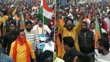 West Bengal: তৃণমূলের পর এবার চন্দননগরে বিজেপির মিছিলে 'গোলি মারো' স্লোগান!