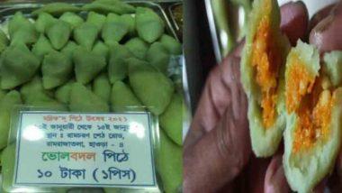 Special Pancake: সবুজের আবরণে গেরুয়া, এই শীতে বাঙালির রসনা তৃপ্তিতে 'ভোলবদল' পিঠে!