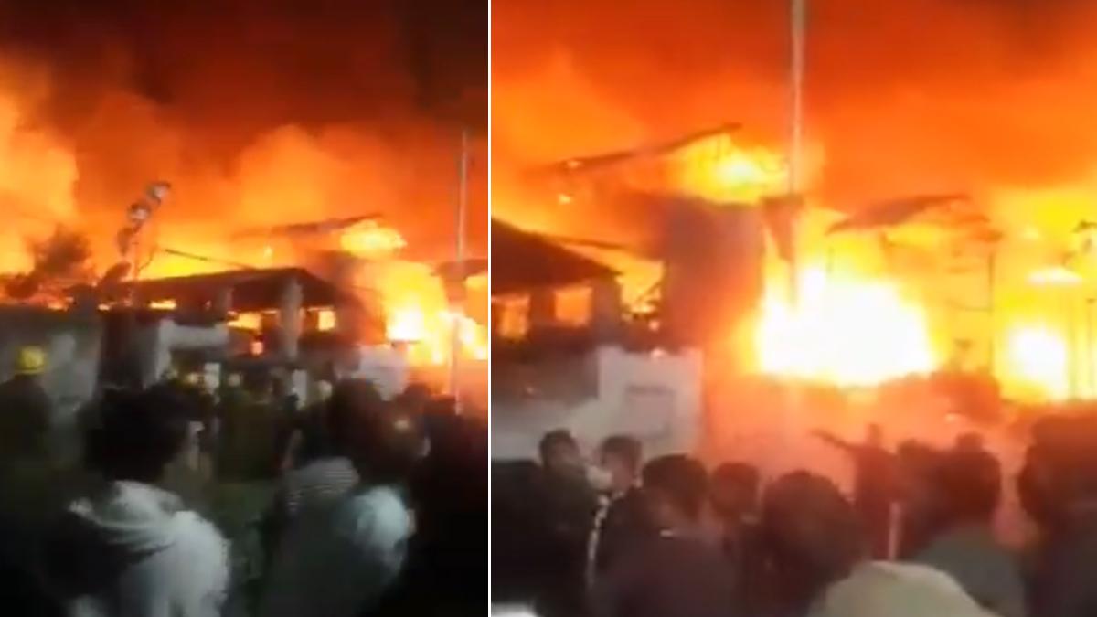 Fire At Colony In Baghbazar: বাগবাজারে বস্তিতে বিধ্বংসী আগুন, ঘটনাস্থানে দমকলের ২০টি ইঞ্জিন