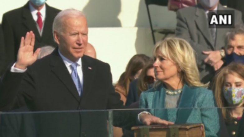 Joe Biden Sworn in as 46th President: আমেরিকার ইতিহাসে এই প্রথম, ৪৬-তম মার্কিন প্রেসিডেন্ট হিসেবে শপথ নিলেন ৭৮ -এর জো বিডেন