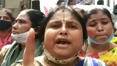 Para-Teachers' Agitation Row: সমকাজে সমবেতনের দাবিতে উত্তাল বিধানসভা চত্বর, গেট টপকে প্রবেশের চেষ্টা শিক্ষিকাদের