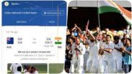 Google Celebrates India's Historic Series Win: গুগলে 'India National Cricket Team' লিখে সার্চ দিলেই অবাক হবেন