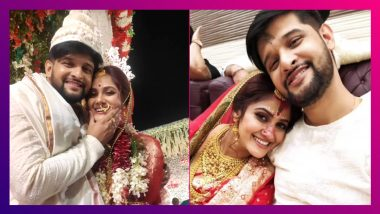 Neel-Trina Wedding: নীল-তৃণার বিয়েতে হাজির টলি পাড়া, নজর কাড়লেন মমতা ব্যানার্জি
