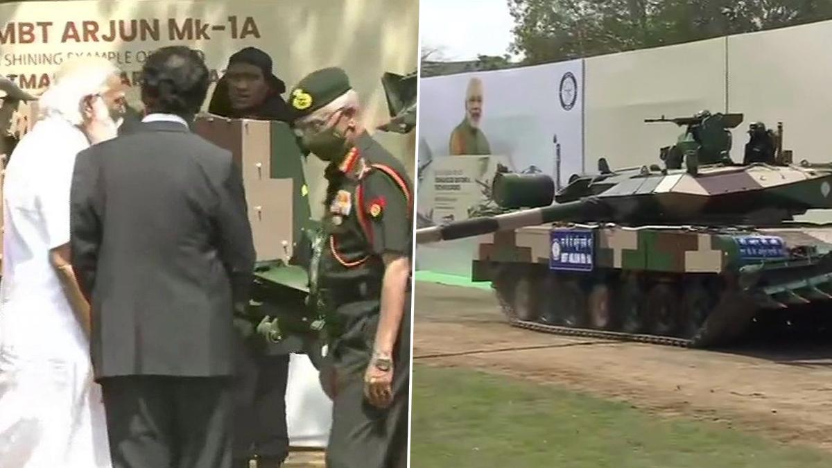 Indian Army: চেন্নাইয়ে সেনাপ্রধানের হাতে বিশ্বমানের যুদ্ধট্যাঙ্ক অর্জুন মার্ক-১এ তুলে দিলেন প্রধানমন্ত্রী নরেন্দ্র মোদি