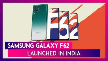 Samsung Galaxy F62 Launched In India: ৭ হাজার মেগাহার্ৎজ ব্যাটারির ক্ষমতাসম্পন্ন সামস্যাংয়ের নতুন স্মার্টফোনের ফিচার এবং দাম একনজরে