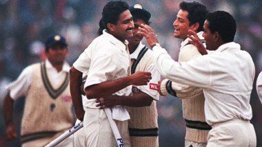 On This Day: আজকের দিনেই পাকিস্তানের বিরুদ্ধে এক ইনিংসে ১০ উইকেট নিয়েছিলেন অনিল কুম্বলে, দেখুন ভিডিও