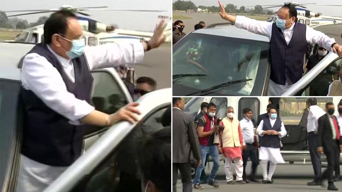 BJP's 'Parivartan Yatra' Live Update: মালদা পৌঁছলেন বিজেপির সর্ব ভারতীয় সভাপতি জেপি নাড্ডা