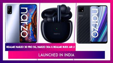 Realme Narzo 30 Series India Launch: স্মার্টফোন থেকে ইয়ার বাড, রিয়েলমি নিয়ে এল একগুচ্ছ নতুন প্রোডাক্ট বাজারে