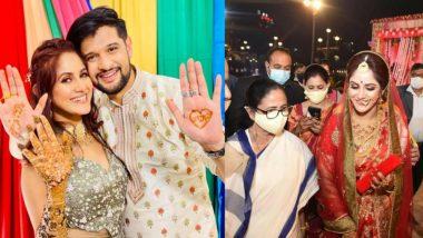 Neel-Trina Wedding: সাতপাকে বাঁধা পড়লেন নীল-তৃণা, নবদম্পতিকে আশীর্বাদ করতে বিয়েবাড়িতে মুখ্যমন্ত্রী