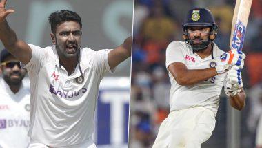 Latest ICC Test Rankings: ক্যারিয়ানের সেরা, আইসিসি টেস্ট র্যাঙ্কিংয়ে অষ্টম স্থানে রোহিত শর্মা, ৪ ধাপ এগোলেন অশ্বিন