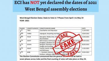 PIB Fact Check: কমিশন কি বিধানসভা নির্বাচনের তারিখ ঘোষণা করে দিয়েছে? ভুয়ো ডকুমেন্ট নিয়ে কী বলল পিআইবি