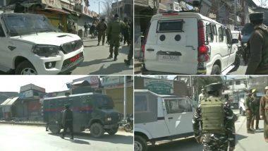 Terror Attack in Jammu and Kashmir: শ্রীনগরের বরজুলায় দিনদুপুরে প্রকাশ্যে জঙ্গি হামলা, গুলির আঘাতে জখম ২ পুলিশকর্মী (দেখুন হামলার ভিডিও)