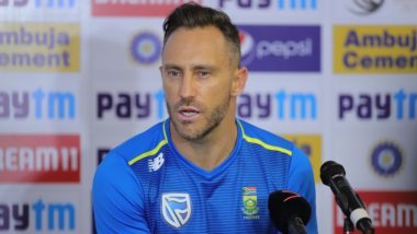 Faf du Plessis Retires From Test Cricket: টেস্ট ক্রিকেট থেকে অবসর নিলেন সাউথ আফ্রিকার ফাফ ডু প্লেসিস