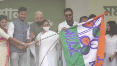Manoj Tiwary Joins TMC: মমতা বন্দ্যোপাধ্যায়ের জনসভায় তৃণমূলে যোগ দিলেন ক্রিকেটার মনোজ তিওয়ারি