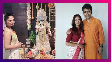 Tollywood Celebrate Saraswati Puja 2021: শুভশ্রী থেকে অপরাজিতা আঢ্য, সরস্বতী পুজো কীভাবে কাটালেন সেলেবরা