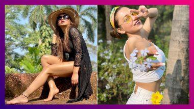 Mimi Chakraborty At Goa: গোয়ার বিচে কালো রঙের নেটের পোশাকে ভাইরাল মিমি