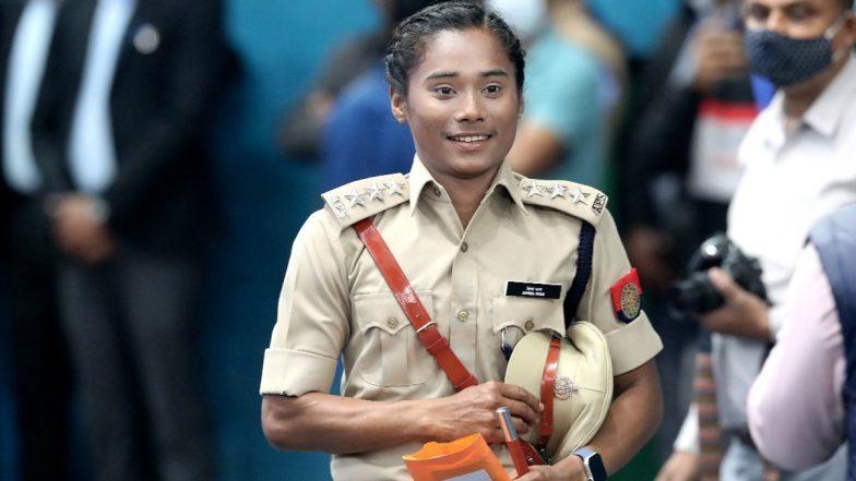 Hima Das inducted as DSP: 'স্প্রিন্টার কুইন' হিমা দাসকে অসম পুলিশের ডিএসপি পদে অন্তর্ভুক্ত করলেন অসমের মুখ্যমন্ত্রী সর্বানন্দ সোনোওয়াল