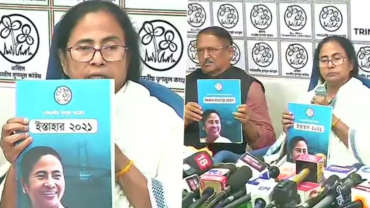 TMC Manifesto: প্রকাশ হল তৃণমূল কংগ্রেসের ইশতেহার, বার্ষিক ৫ লক্ষ কর্মসংস্থানের লক্ষ্যমাত্রা