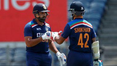 Rohit Sharma and Shikhar Dhawan Records: ওয়ানডে ক্রিকেটে ৫ হাজার রান সংগ্রহকারী দ্বিতীয় ভারতীয় জুটি রোহিত শর্মা-শিখর ধাওয়ান