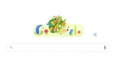 Spring 2021 Google Doodle: 'আজি বসন্ত জাগ্রত দ্বারে', বসন্তকালের আগমনের জানান দিল গুগল ডুডল