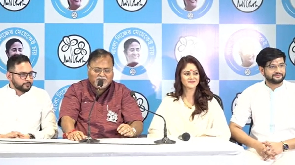 Neel Bhattacharya And Trina Saha joins TMC: তৃণমূলে যোগ দিলেন অভিনেতা নীল ভট্টাচার্য ও তৃণা সাহা