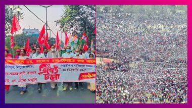 Left-Congress Brigade: ২১-র ব্রিগেড দেখল তরুণ প্রজন্মকে