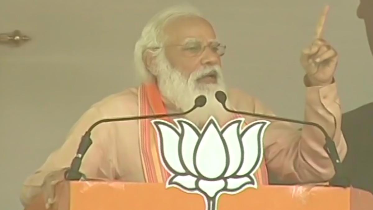 Narendra Modi at Purulia Rally: 'দ্রুত সুস্থ হন দিদি', পুরুলিয়ার জনসভায় প্রার্থনা নরেন্দ্র মোদির
