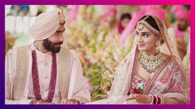 Jasprit Bumrah Marries Sanjana Ganeshan: টেলিভিশন সঞ্চালিকা সঞ্জনার সঙ্গে সাতপাকে বাঁধা পড়লেন জসপ্রীত বুমরাহ