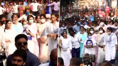 Mamata Banerjee: লক্ষ্য মহিলা ভোটারদের আস্থা অর্জন, 'জয় বাংলা' প্ল্যাকার্ড নিয়ে আন্তর্জাতিক নারী দিবসে মিছিলে মমতা