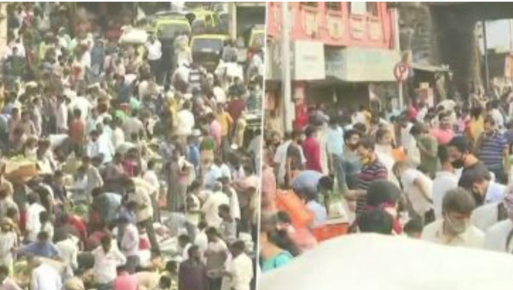 Coronavirus Cases in Maharashtra: দাদারের সবজি বাজারে জনতার ঢল, করোনার দৈনিক সংক্রমণে রেকর্ড মহারাষ্ট্রে