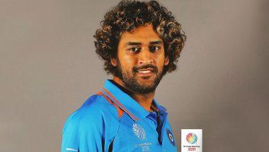 ICC Shares Morphed Picture of MS Dhoni:  লাসিথ মালিঙ্গার হেয়ারস্টাইলে এমএস ধোনি ! দেখুন ছবি