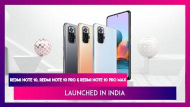 Redmi Note 10 Series India Launch: Redmi Note 10, Redmi Note 10 Pro এবং Redmi Note 10 Pro Max লঞ্চ করল ভারতে