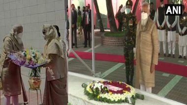PM Modi In Bangladesh : সঙ্গে হাসিনা, বঙ্গবন্ধুর সমাধিতে শ্রদ্ধা মোদীর