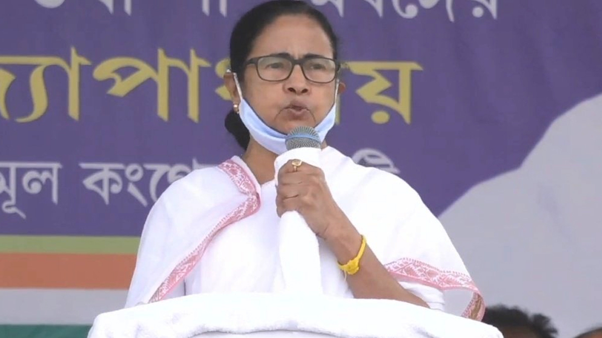 Mamata Banerjee at Shyampukur Virtual Meeting: 'করোনা বাড়ানোর জন্য দায়ী নির্বাচন কমিশন ও নরেন্দ্র মোদি': মমতা বন্দোপাধ্যায়
