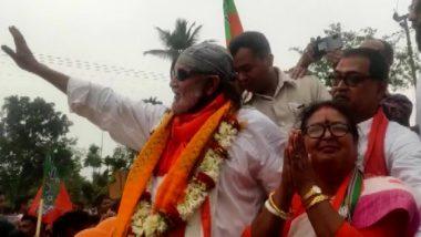 WB Assembly Elections 2021: তুফানগঞ্জের বিজেপি প্রার্থী মালতি রাভা রায়ের সমর্থনে রোড শো মিঠুন চক্রবর্তীর