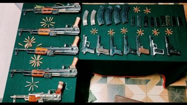 Huge cache of arms seized In J&K : বড় সাফল্য বাহিনীর, কুপওয়ারা থেকে উদ্ধার বিপুল অস্ত্র, বিস্ফোরক