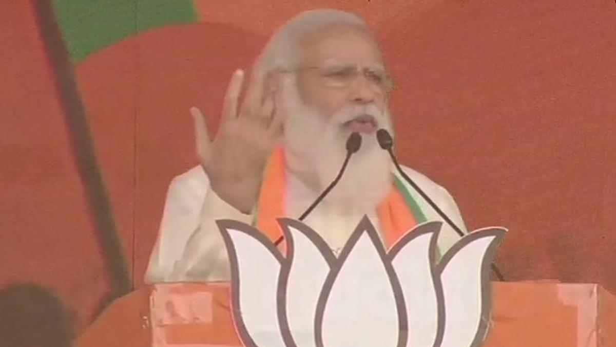 BJP Brigade Rally LIVE: এবার জোরসে ছাপ, টিএমসি সাফ: নরেন্দ্র মোদি